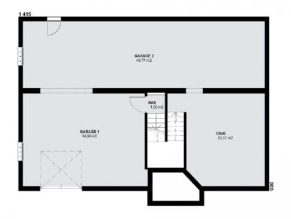 Plan de maison SPHENE  : Photo 1