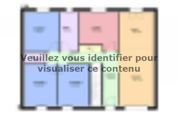 Plan de maison TOPAZE SOUS SOL contemporain  : Photo 2
