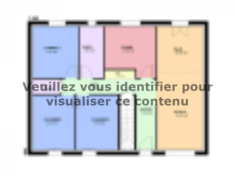 Plan de maison TOPAZE SOUS SOL contemporain : Vignette 2