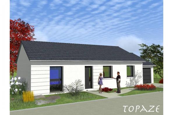 Modèle de maison TOPAZE VS contemporain  : Photo 1