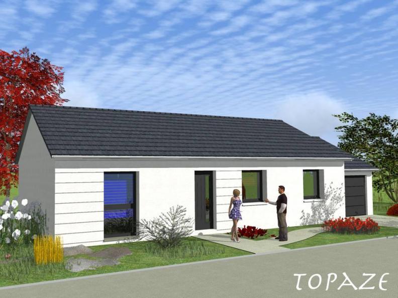 Modèle de maison TOPAZE VS contemporain : Vignette 1
