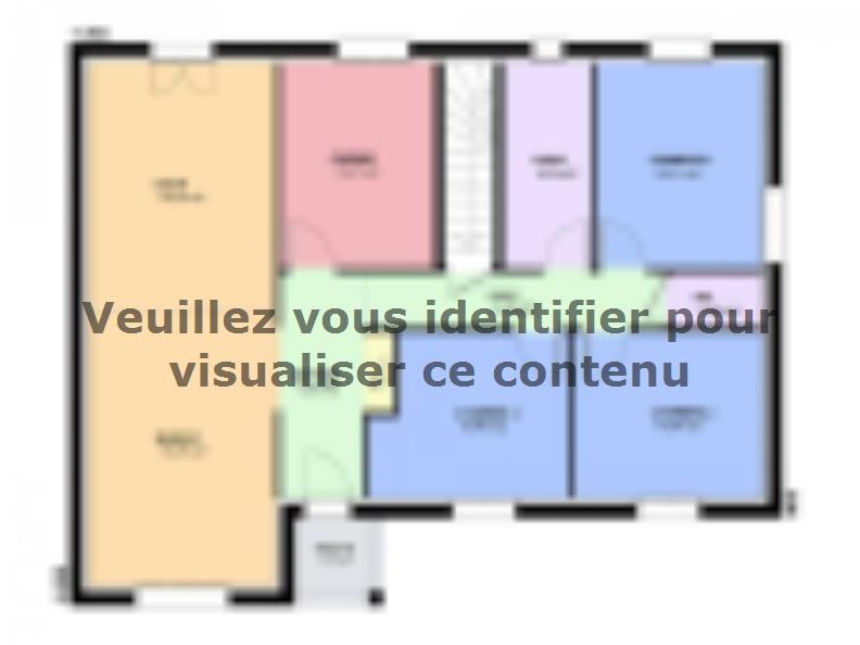 Plan de maison TURQUOISE SOUS SOL contemporain : Vignette 2