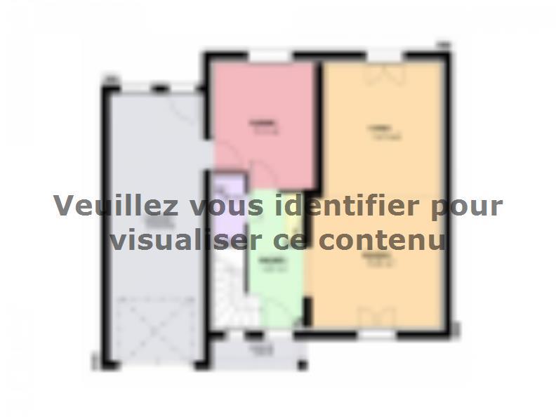 Plan de maison AMETHYSTE traditionnel : Vignette 1