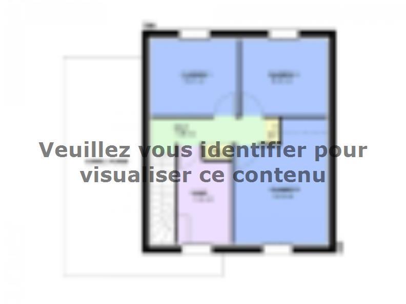 Plan de maison AMETHYSTE traditionnel : Vignette 2