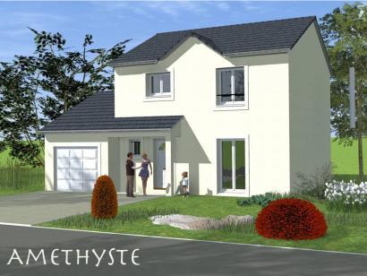 Modèle de maison AMETHYSTE traditionnel 3 chambres  : Photo 1