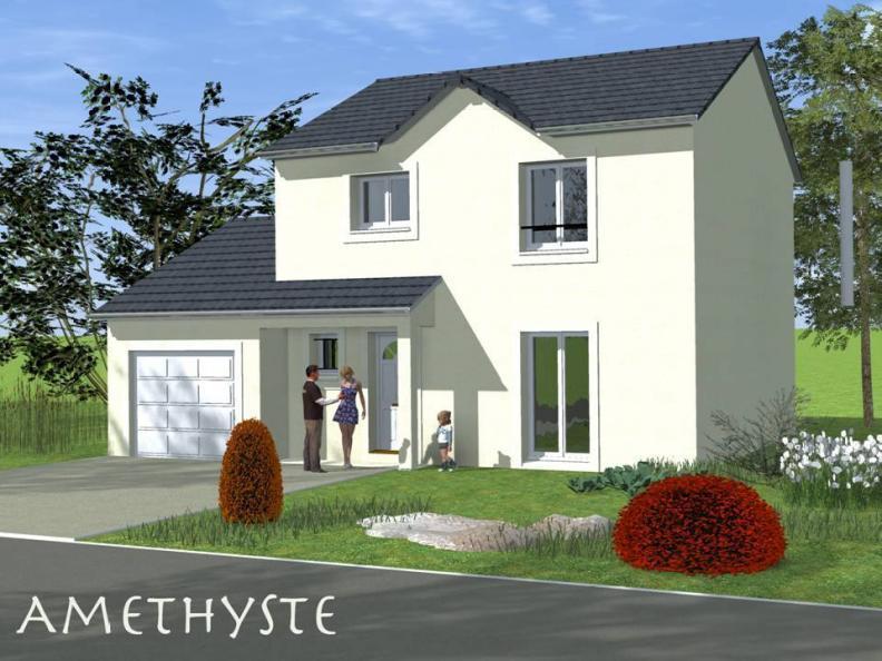 Modèle de maison AMETHYSTE traditionnel : Vignette 1