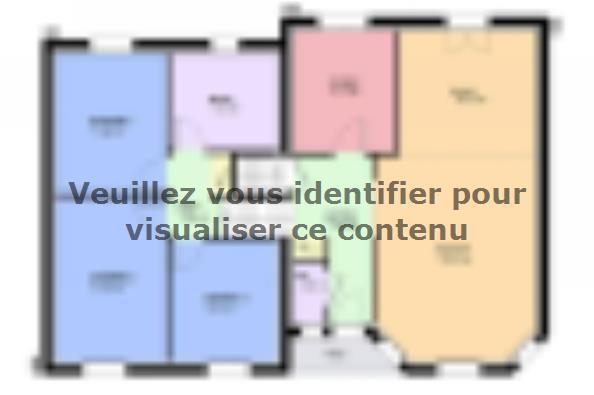 Plan de maison CRISTAL traditionnel 3 chambres  : Photo 2