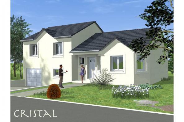 Modèle de maison CRISTAL traditionnel 3 chambres  : Photo 1