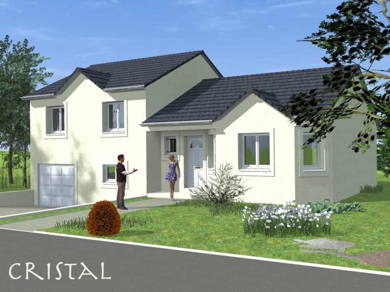 Modèle de maison CRISTAL traditionnel : Vignette 1
