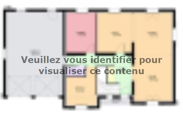 Plan de maison DIAMANT  : Photo 1