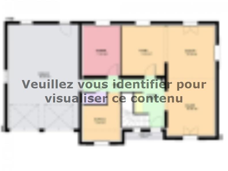 Plan de maison DIAMANT : Vignette 1