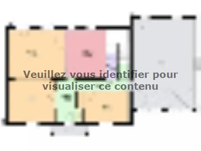 Plan de maison EMERAUDE traditionnel  : Photo 1