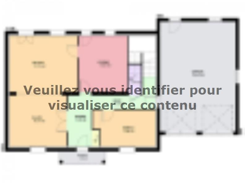 Plan de maison EMERAUDE traditionnel : Vignette 1