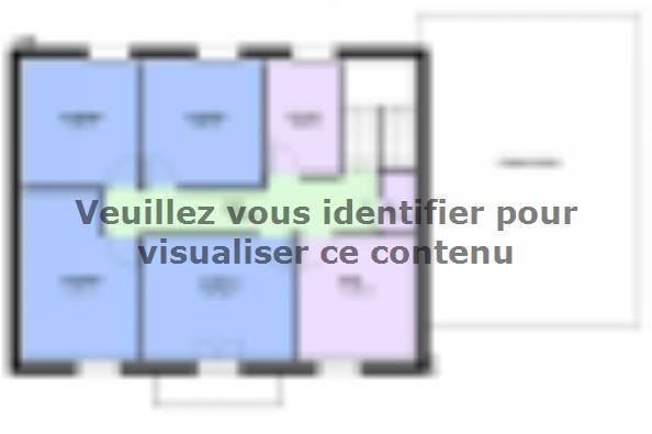 Plan de maison EMERAUDE traditionnel  : Photo 2