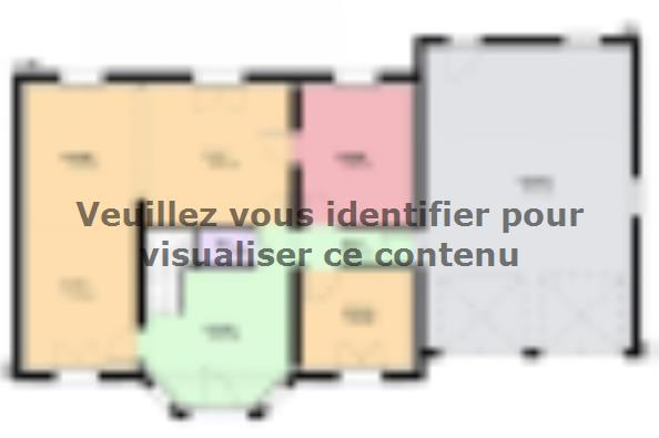 Plan de maison LOUISIANE  : Photo 1