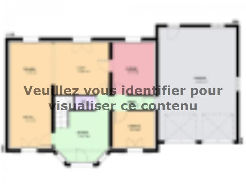 Plan de maison LOUISIANE : Vignette 1