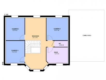 Plan de maison LOUISIANE  : Photo 2