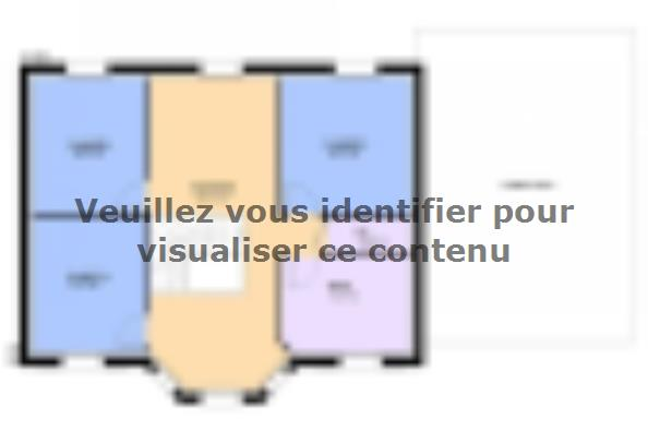 Plan de maison LOUISIANE  : Photo 2