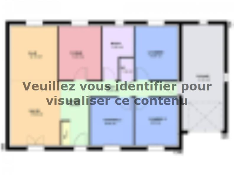 Plan de maison TOPAZE VS traditionnel : Vignette 1