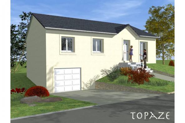 Modèle de maison TOPAZE SOUS SOL traditionnel  : Photo 1