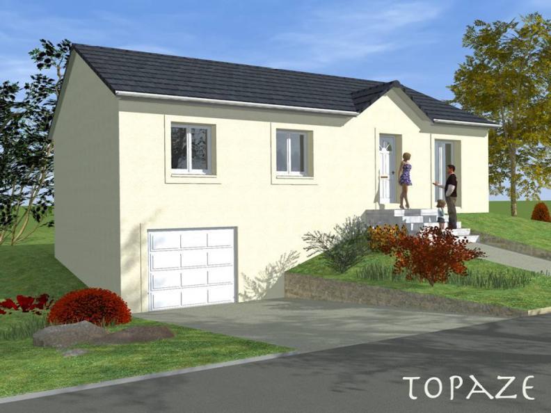 Modèle de maison TOPAZE SOUS SOL traditionnel : Vignette 1
