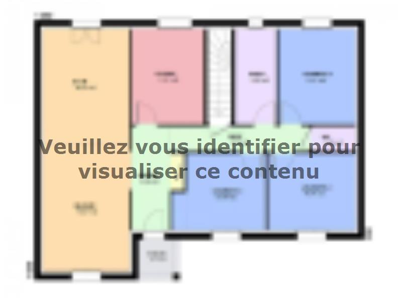 Plan de maison TURQUOISE SOUS SOL traditionnel : Vignette 2