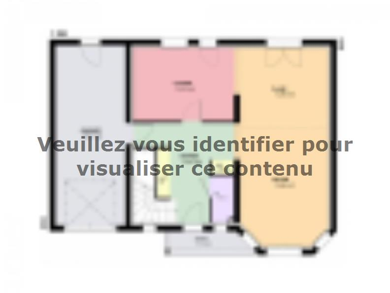 Plan de maison AMBRE traditionnel : Vignette 1