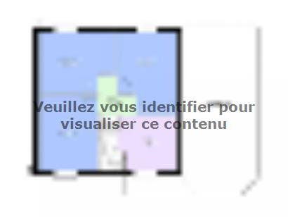 Plan de maison AMBRE traditionnel 3 chambres  : Photo 2