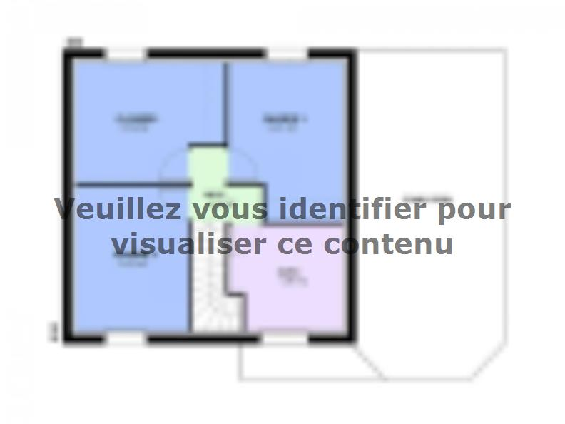 Plan de maison AMBRE traditionnel : Vignette 2