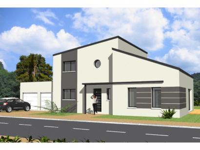 Modèle de maison Avant-Projet HERBIERS - 140 m2 - 4 chambres 4 chambres  : Photo 1