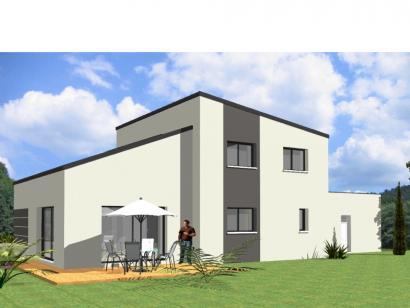 Modèle de maison Avant-Projet HERBIERS - 140 m2 - 4 chambres 4 chambres  : Photo 2