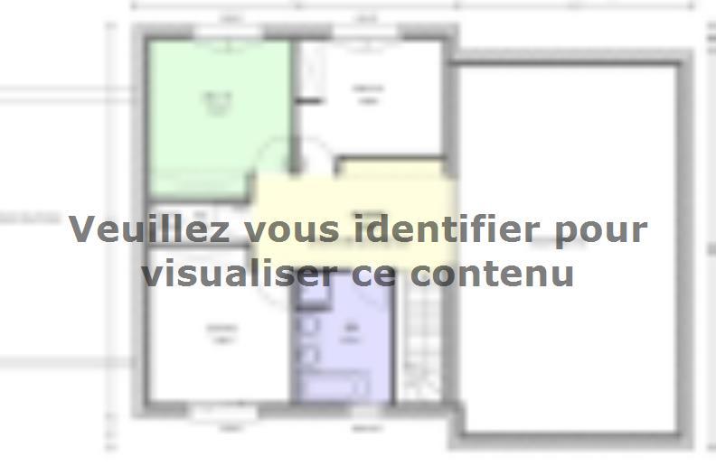 Plan de maison Avant-Projet HERBIERS - 140 m2 - 4 chambres : Vignette 2