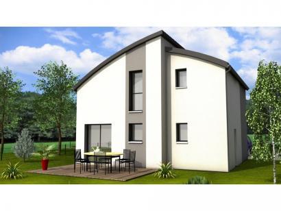 Modèle de maison Avant-Projet GUERINIERE - 90 m2 - 3 chambres 3 chambres  : Photo 2