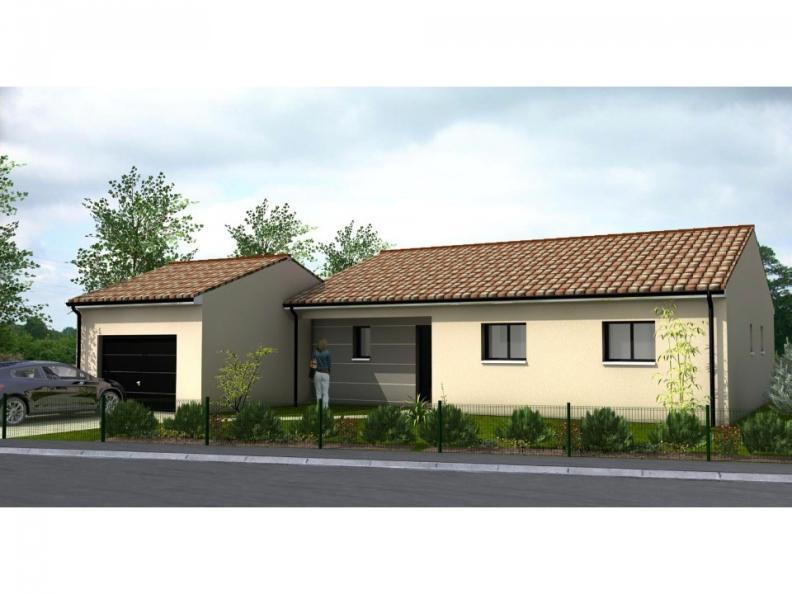 Modèle de maison Avant-Projet MALLIEVRE - 100 m² - 3 chambres : Vignette 1