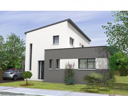 Maison De 130M2 modèle de maison avant-projet beaurepaire - 130 m2 - 4 chambres - 4