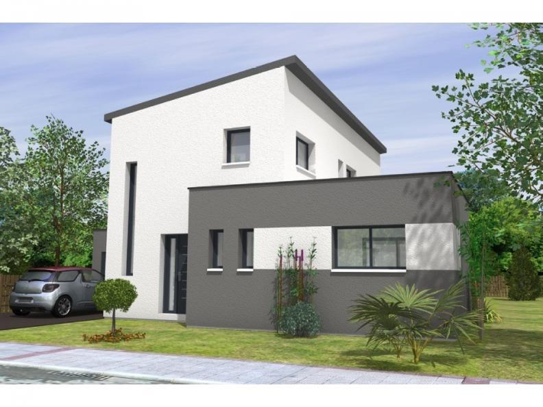 Modèle de maison Avant-Projet BEAUREPAIRE - 130 m2 - 4 chambres : Vignette 1