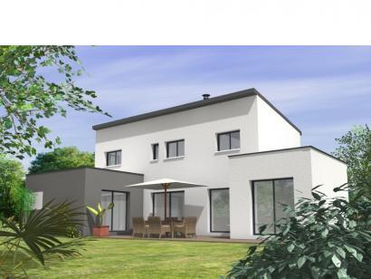 Modèle de maison Avant-Projet BEAUREPAIRE - 130 m2 - 4 chambres 4 chambres  : Photo 2