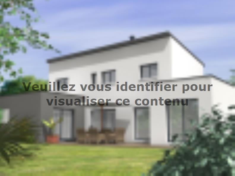 Modèle de maison Avant-Projet BEAUREPAIRE - 130 m2 - 4 chambres : Vignette 2