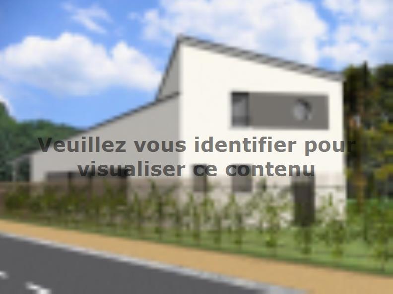 Modèle de maison Avant-Projet CEZAIS - 130 m2 - 5 chambres : Vignette 2