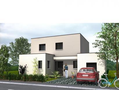 Modèle de maison Avant-Projet CLOUZEAUX - 110 m² - 3 chambres 3 chambres  : Photo 1