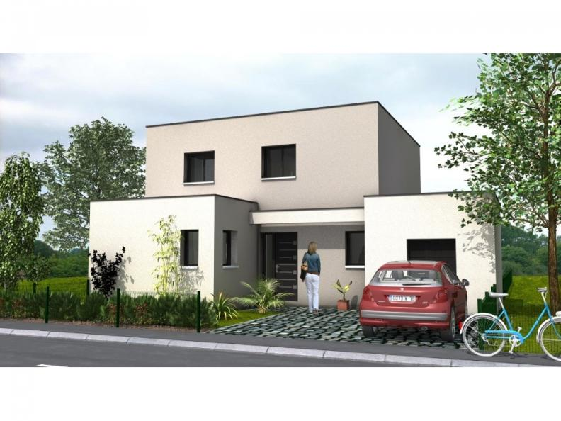 Modèle de maison Avant-Projet CLOUZEAUX - 110 m² - 3 chambres : Vignette 1