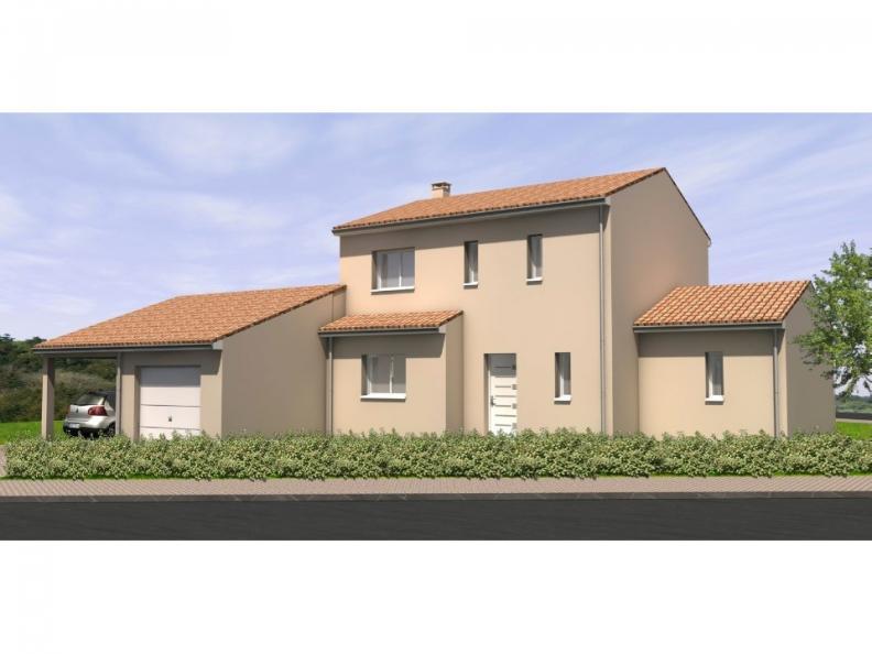 Modèle de maison Avant-Projet LANDERONDE - 110 m² - 3 chambres : Vignette 1