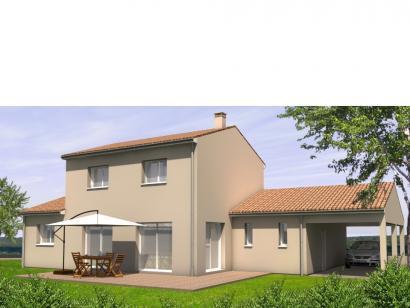 Modèle de maison Avant-Projet LANDERONDE - 110 m² - 3 chambres 3 chambres  : Photo 2
