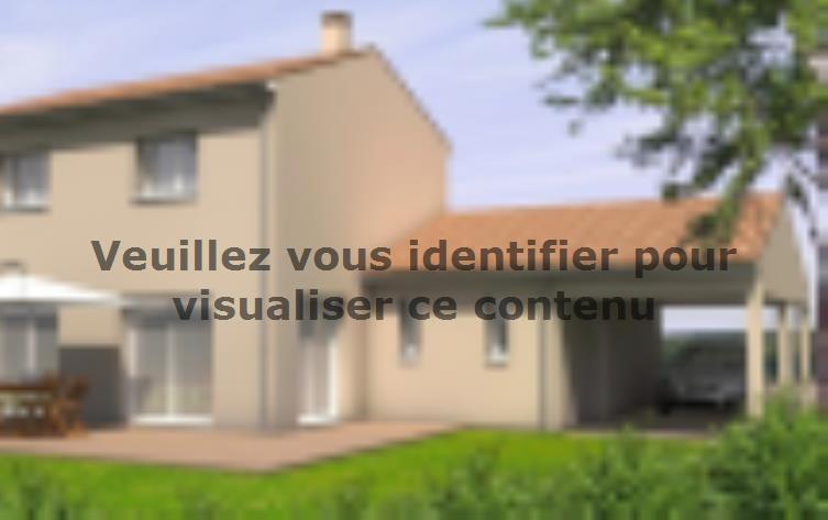 Modèle de maison Avant-Projet LANDERONDE - 110 m² - 3 chambres : Vignette 2