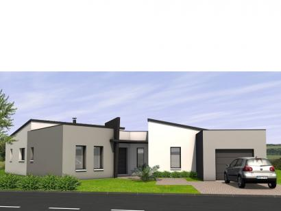 Modèle de maison Avant-Projet CHALLANS - 130 m2 - 4 chambres 4 chambres  : Photo 1