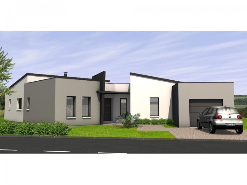Modèle de maison Avant-Projet CHALLANS - 130 m2 - 4 chambres : Vignette 1