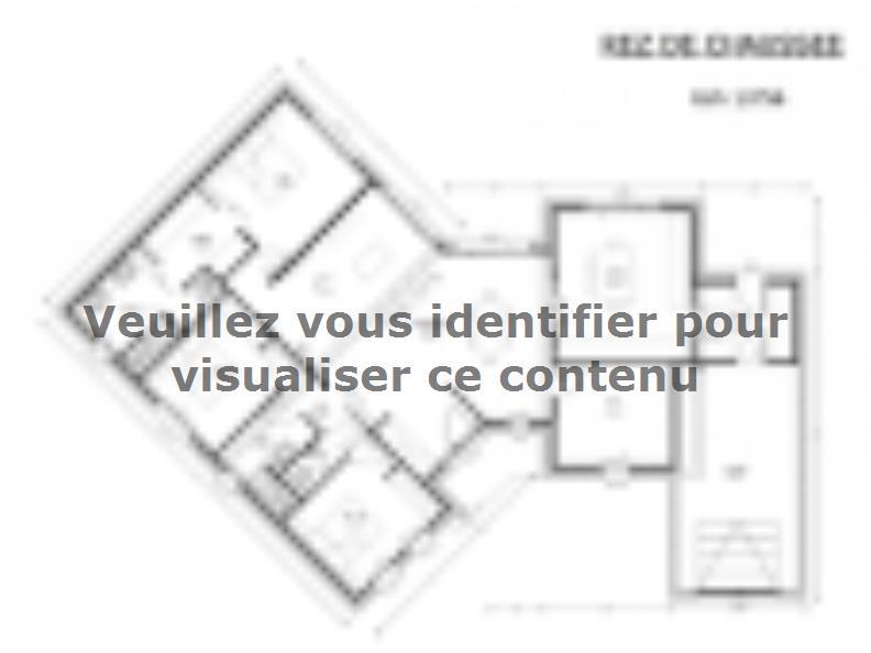 Plan de maison Avant-Projet CHALLANS - 130 m2 - 4 chambres : Vignette 1