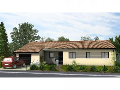 Modèle de maison Avant-Projet LUCON - 105 m2 - 3 chambres 3 chambres  : Photo 1