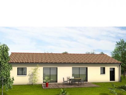 Modèle de maison Avant-Projet LUCON - 105 m2 - 3 chambres 3 chambres  : Photo 2