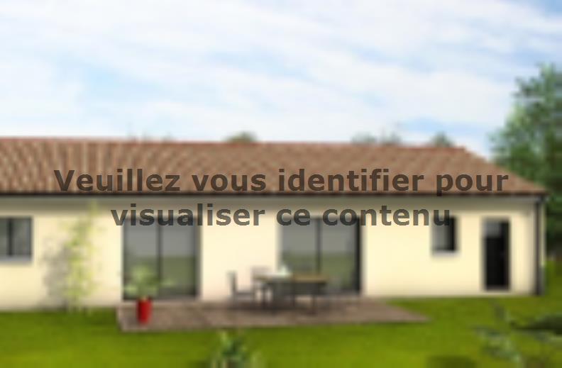 Modèle de maison Avant-Projet LUCON - 105 m2 - 3 chambres : Vignette 2